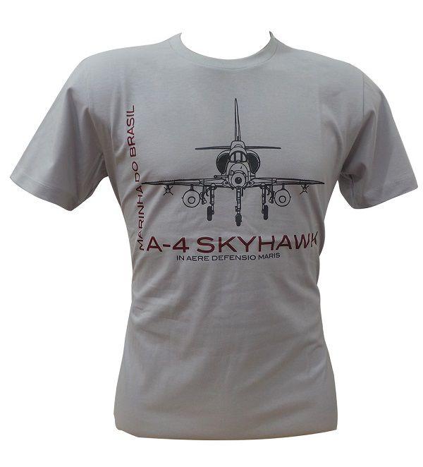 Camiseta Marinha Skyhawk Cinza