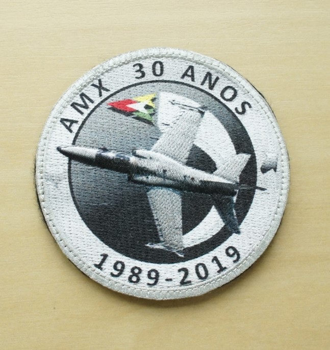 Patch 3D 30 anos AMX