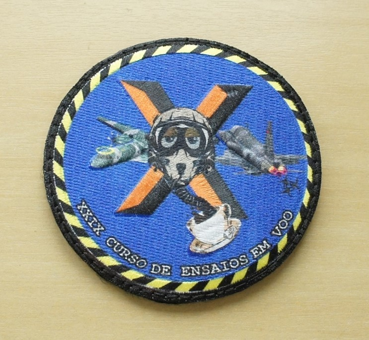 Patch 3D Comemorativa CTA - Centro Técnico Aeroespacial