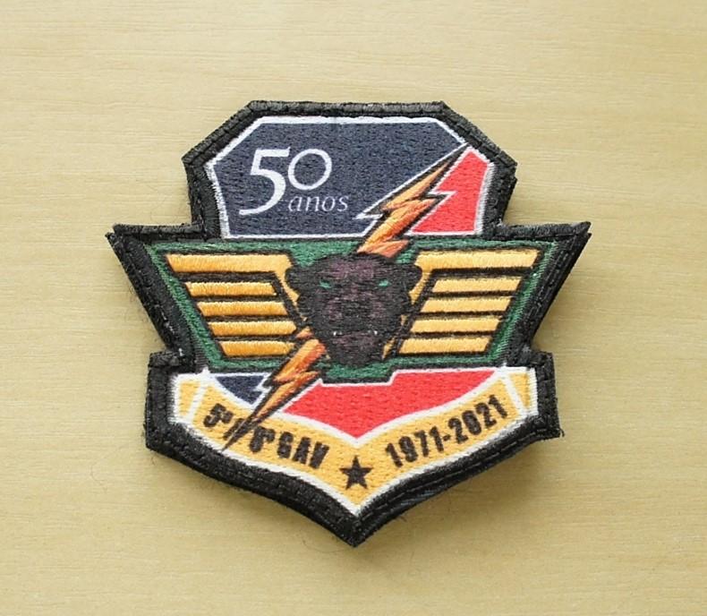 Patch 3D Esquadrão Pantera 50 anos