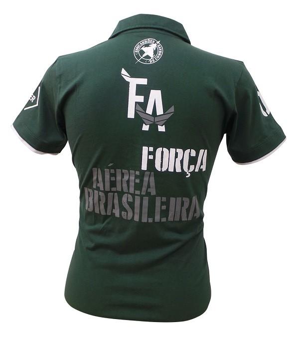 Polo Força Aérea Verde