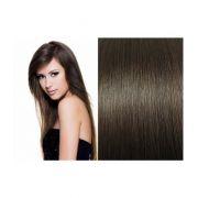 Mega Hair de Tela Castanho Claro 100g Cabelos Humanos Naturais Liso