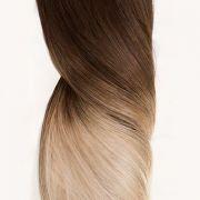 Mega Hair de Tela Ombré Hair 100g Cabelos Humanos Naturais Liso