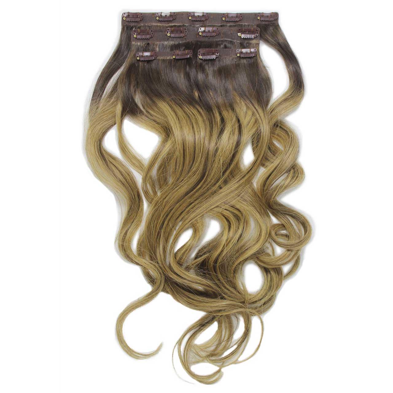 Aplique Tic Tac Ombré Hair 160g Cabelos Humanos Naturais Liso