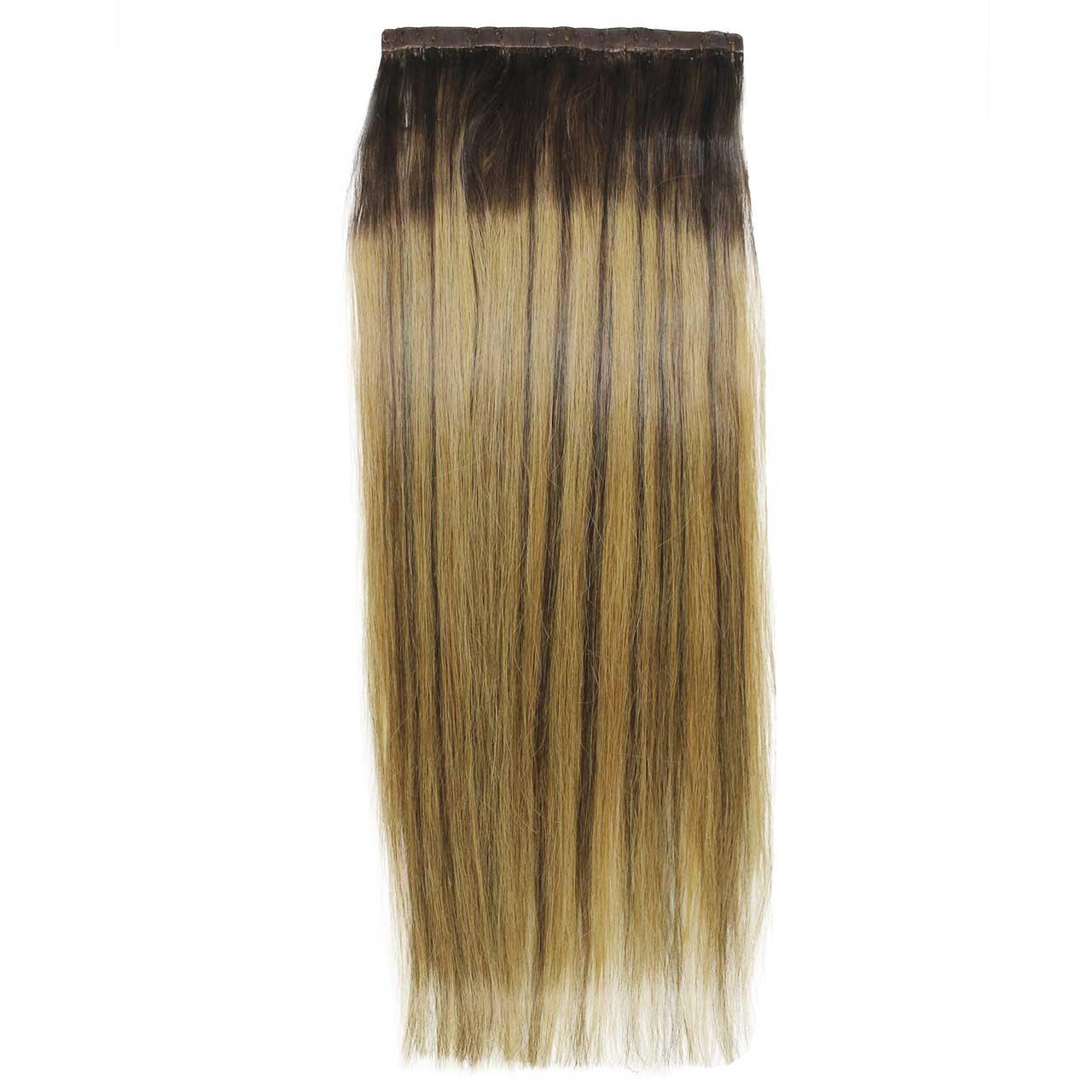 Aplique Tic Tac Ombré Hair 200g Cabelos Humanos Naturais Liso