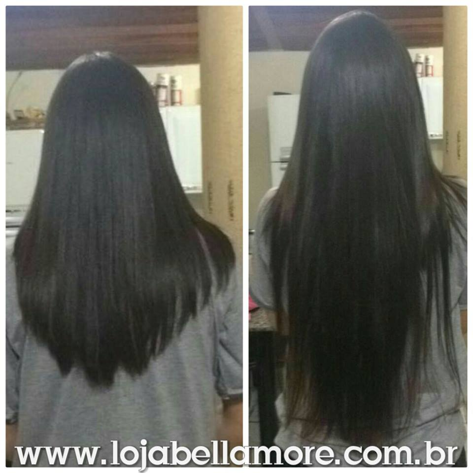 Mega Hair de Fita Adesiva Nano - Micro Pele Castanho Claro 160g Cabelo Humano Liso