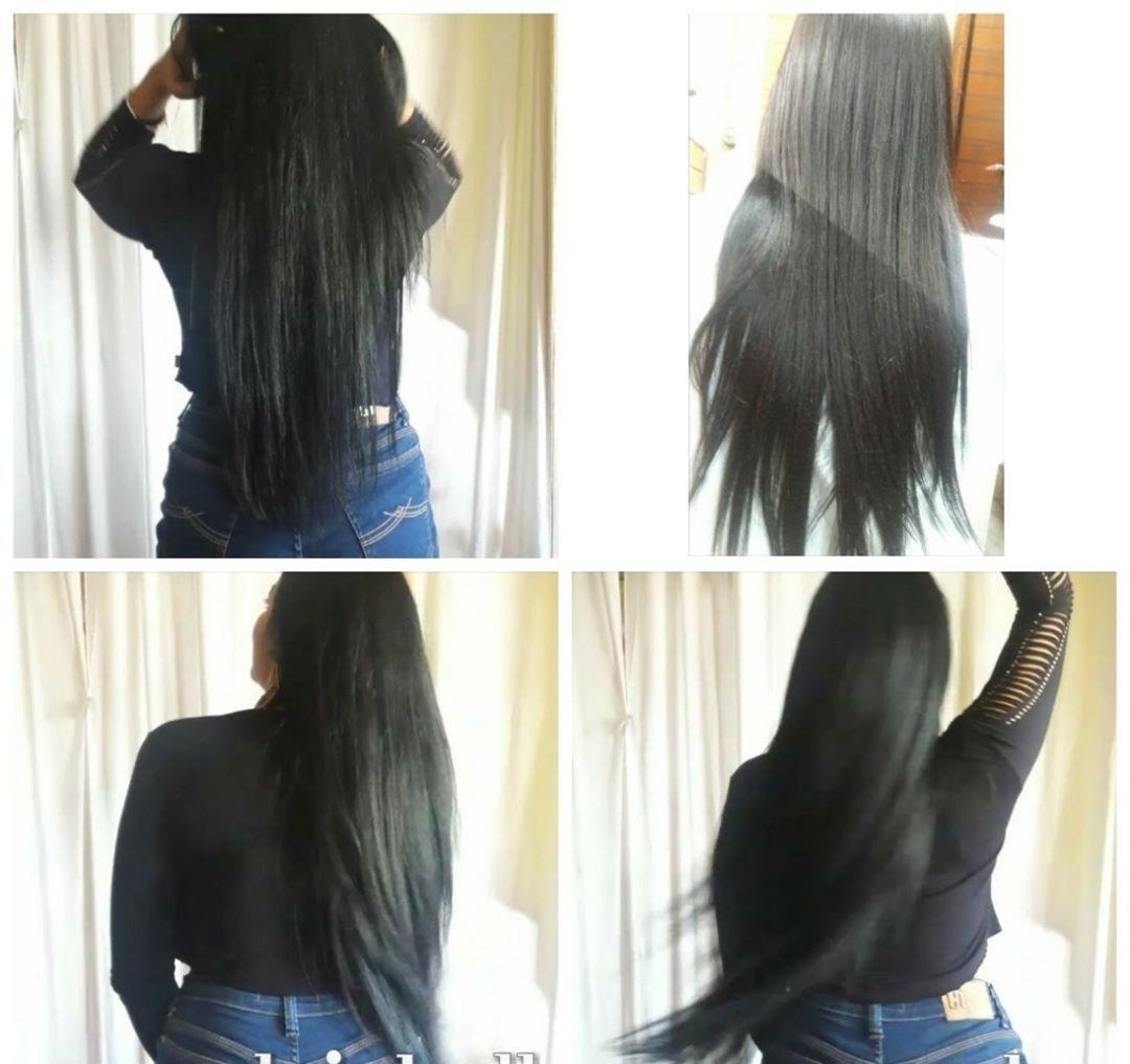 Mega Hair de Fita Adesiva Nano - Micro Pele Preto Natural 100g Cabelo Humano Liso