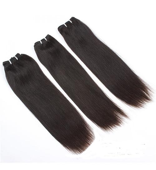 Mega Hair de Tela Castanho Médio 80g Cabelos Humanos Naturais Liso