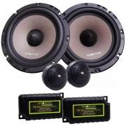 Alto Falante Kit 2 Vias Audiophonic 6