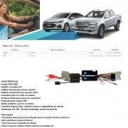 Desbloqueio de Multimídia Faaftech FT-VF-GM4 para Chevrolet GM S10 LT / Advantage / Midnight e Cruze LT Mylink