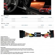 Desbloqueio de Multimídia Faaftech FT-VF-UC2 para Fiat Argo Cronos Toro Renegade Compass