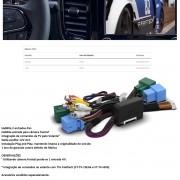 Desbloqueio de Multimídia Faaftech FT-VF-UC4 para Fiat Strada 2021 e Toro 2021 Uconnect de 7