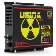 Fonte Carregador Usina Plus+ 40A Bivolt com voltímetro e amperímetro Smart Cooler