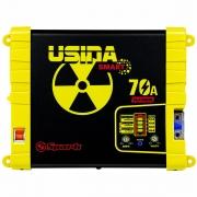 Fonte e Carregador Usina 70A Smart 12 Volts Battery Meter Bivolt