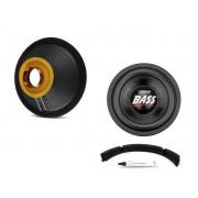 Kit Reparo para Alto Falante Sub Woofer 7Driver Bass 1K2 10