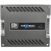 Módulo Amplificador Banda Ice X 3001 3000W Rms 1 Ohms 1 Canal