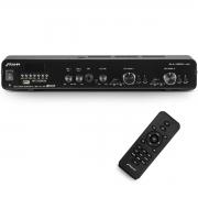Módulo Amplificador Home Frahm Slim 2500 APP G3 160W Rms 2 Canáis Bivolt USB SD FM BT