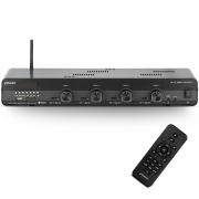 Módulo Amplificador Home Frahm Slim 4500 Optical 480W Rms 4 Canáis Bivolt USB SD FM BT