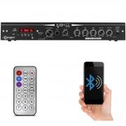 Módulo Amplificador Receiver Home Taramps THS 3600 120W Rms 2 Canáis Bivolt USB SD FM BT