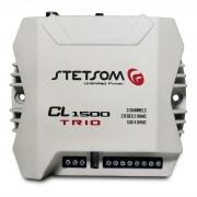 Módulo Amplificador Stetsom CL 1500 Trio 400W Rms 2+4 Ohms 3 Canais