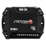 Modulo Amplificador Stetsom Digital Ir280.4 280w Rms 2 Ohms