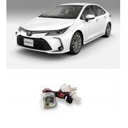 Módulo de Vidro Elétrico, Rebatimento retrovisor e Tilt Down Flexitron para Toyota Corolla Altis Premium e Altis Hibrido 2020 4 Portas FCT VRD TY-CR 4.5