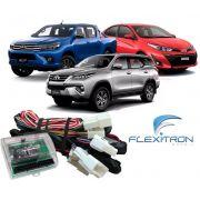 Módulo de Vidro Elétrico, Retrovisor e Tillt Down Flexitron para Toyota Hilux, SW4 e Yaris FCT VRD TY-YH 4.0