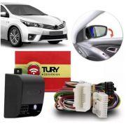 Módulo Rebatimento de Retrovisor Tilt-down Tury Toyota Corolla Gli a partir de 2015 PARK 1.4.3 V
