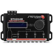 Processador de Áudio Stetsom STX2448 4 Vias 48 dB/8ª