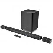 Soundbar Home Theater JBL Bar 5.1 4K Ultra HD Surround Subwoofer sem fio 218W JBLBAR51BLKBR