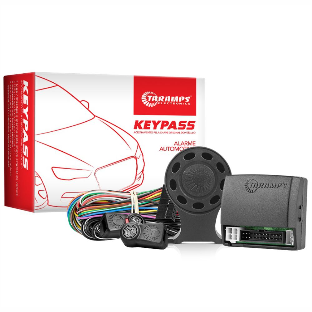 Alarme Automotivo Taramps Key Pass para Chave Original