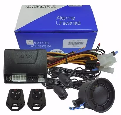Alarme FKS Automotivo FK902 Plus CR941 2 Controles