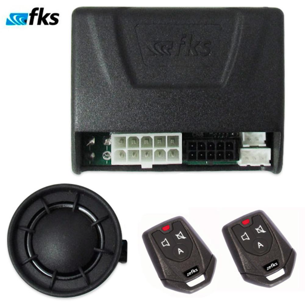 Alarme FKS Automotivo FK902 Plus CR941 2 Controles