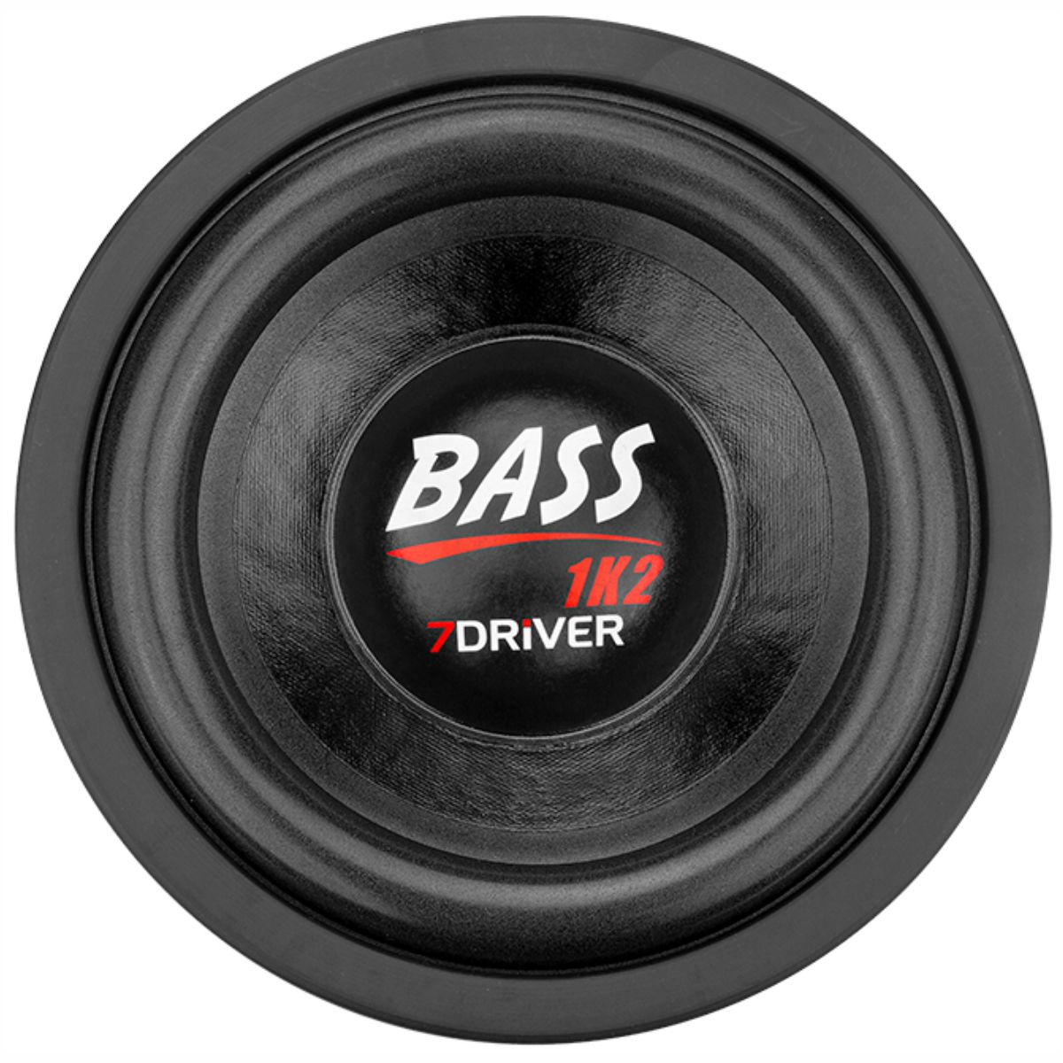 "Alto Falante Subwoofer 7Driver 8"" Bass 1K2 600W RMS 4+4 Ohms"