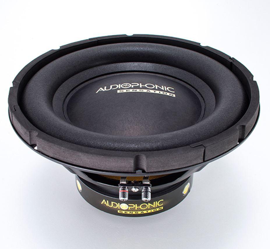 """Alto Falante Subwoofer Audiophonic 10"""" Sensation S1 10 S4 200W Rms 4 Ohms"""