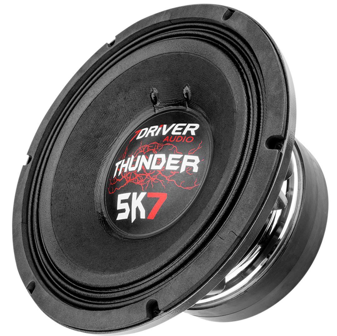 """Alto Falante Woofer 7Driver 12"""" Thunder 5K7 2850W Rms 2 Ohms"""