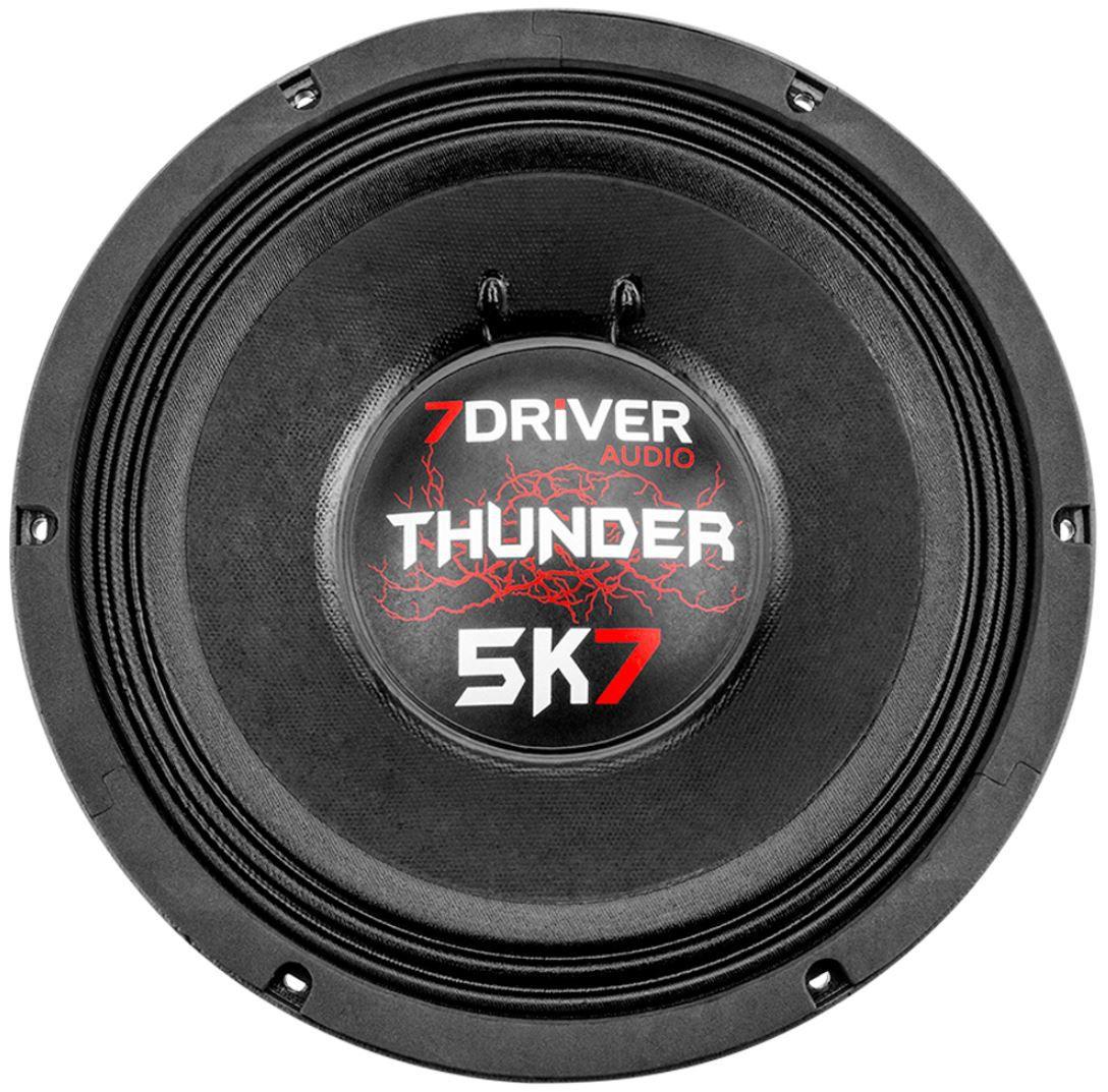 """Alto Falante Woofer 7Driver 12"""" Thunder 5K7 2850W Rms 4 Ohms"""
