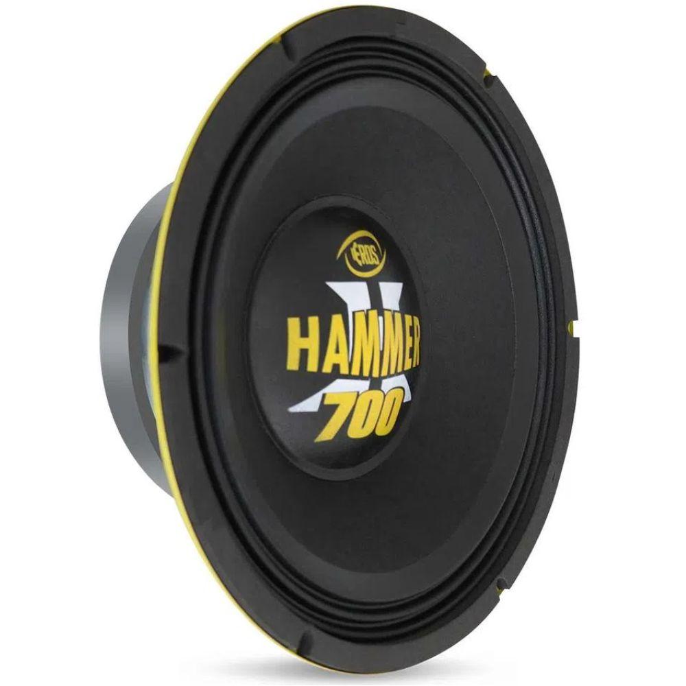 """Alto Falante Woofer Eros 12"""" E12 Hammer 700 700W Rms 4 Ohms"""