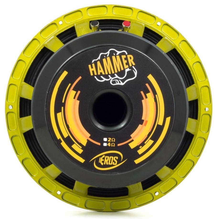 """Alto Falante Woofer Eros 12"""" E12 Hammer 7.2K 3600W Rms 4 Ohms"""