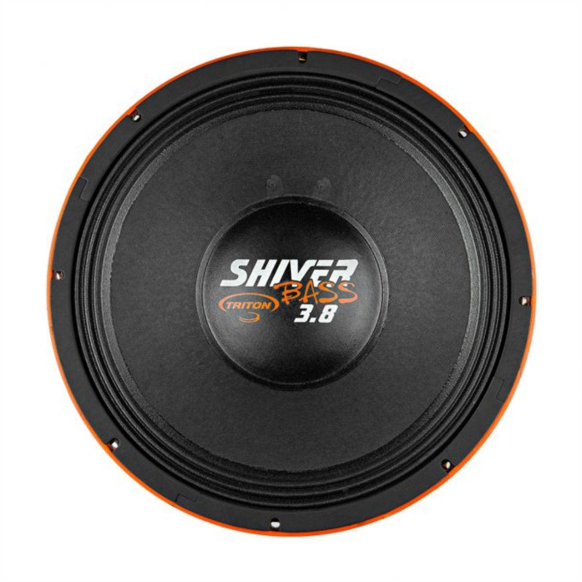"Alto Falante Woofer Triton 15"" Shiver Bass 3.8 1900W Rms 4 Ohms"