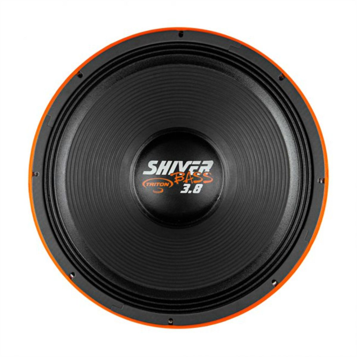 "Alto Falante Woofer Triton 18"" Shiver Bass 3.8 1900W Rms 3800W Pmpo 4 Ohms"