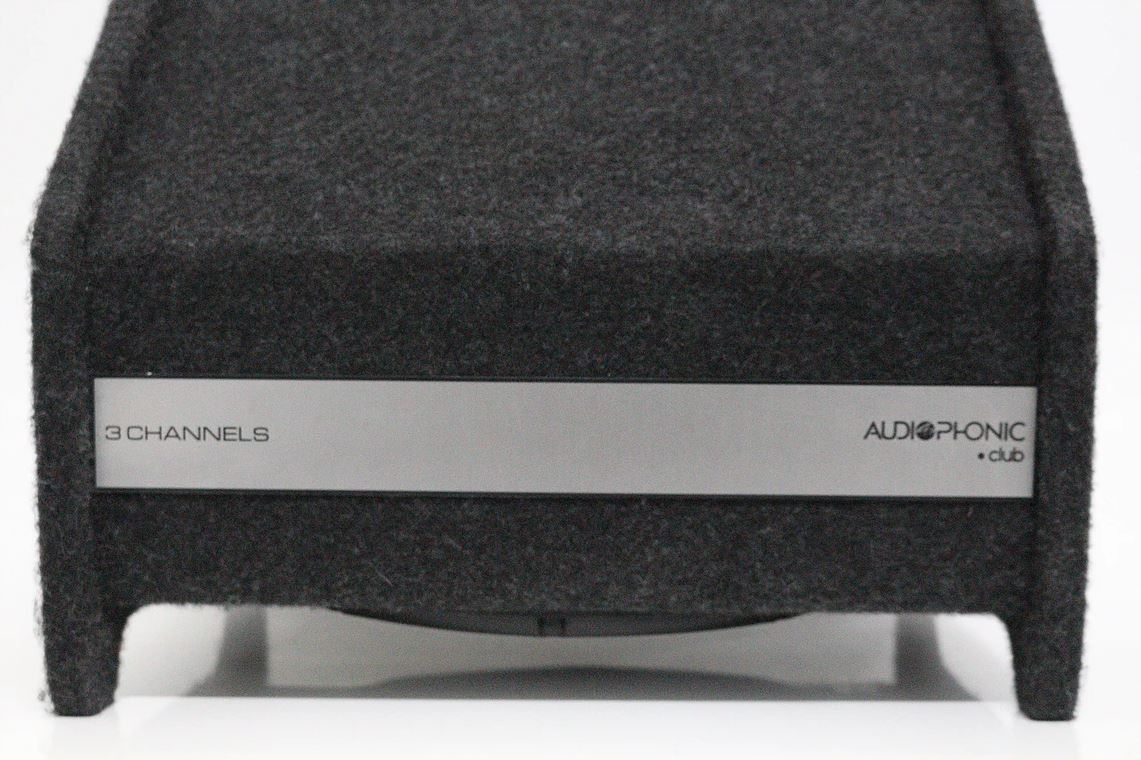 "Caixa Amplificada Ativa 3 Canais Audiophonic 12"" Club Bas 12 4.1 400W Rms + 2 Canais 2 X 100W Rms"