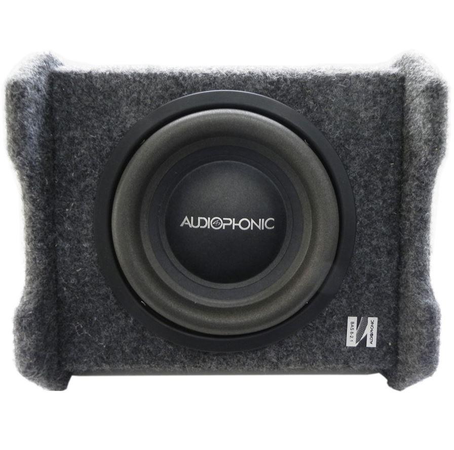 "Caixa Amplificada Ativa 3 Canais Audiophonic 8"" Sensation Bas 8 2.1 200W Rms + 2 Canais 2 X 100W Rms"