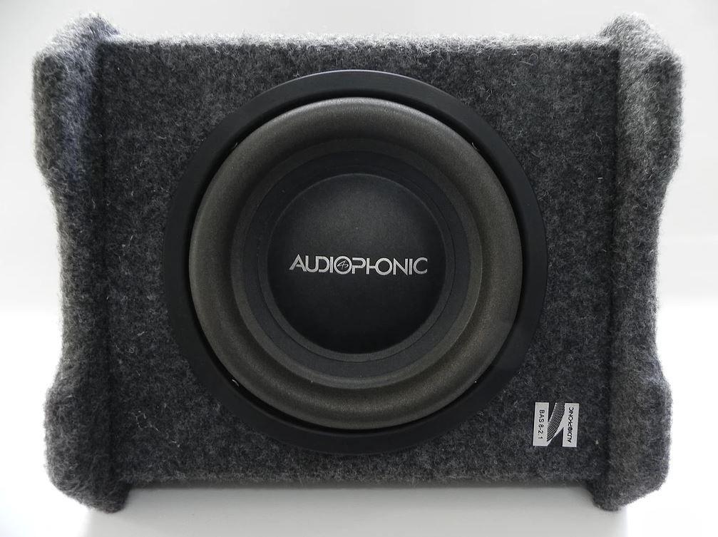 "Caixa Amplificada Ativa Mono Audiophonic 8"" Sensation Bas 8 2.0 200W Rms"
