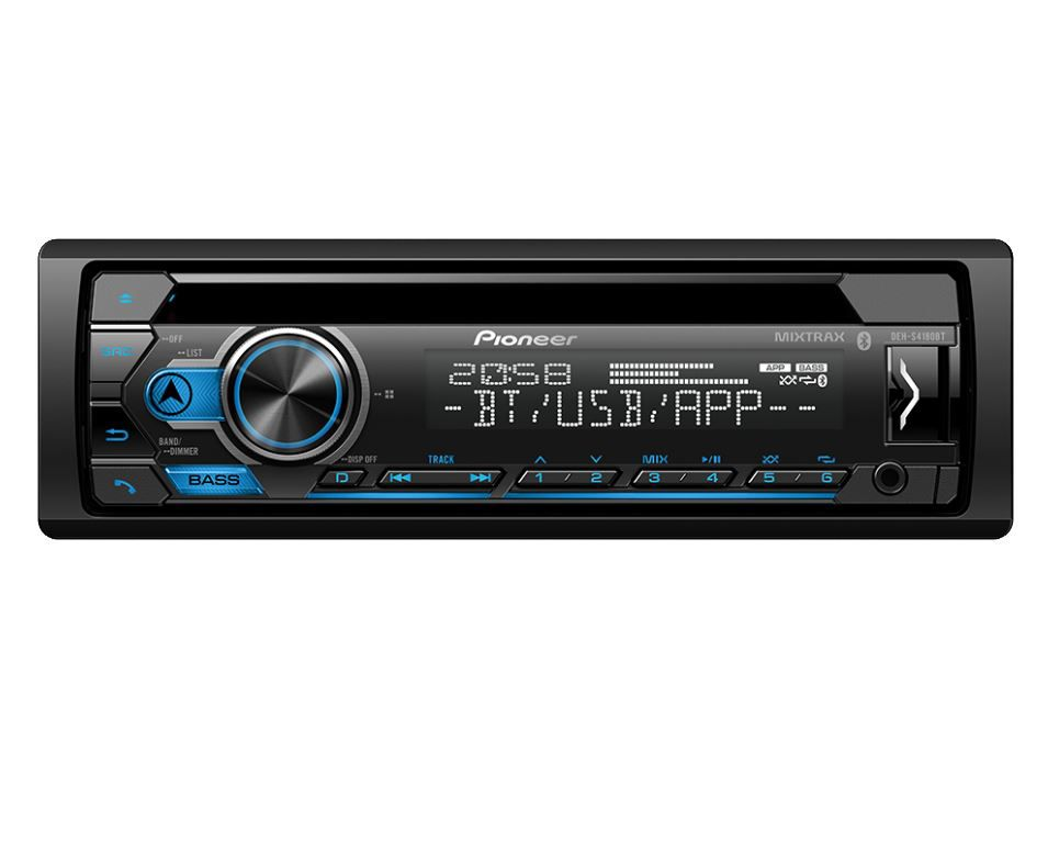 CD Player Automotivo Pioneer Deh- S4180UB Bluetooth Controle Usb Aux Mixtrax