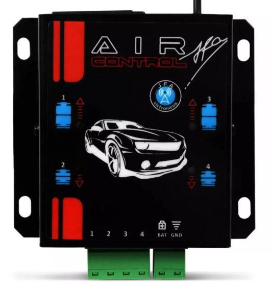 Controle Longa Distancia JFA Air Control para Suspensão a AR Preto