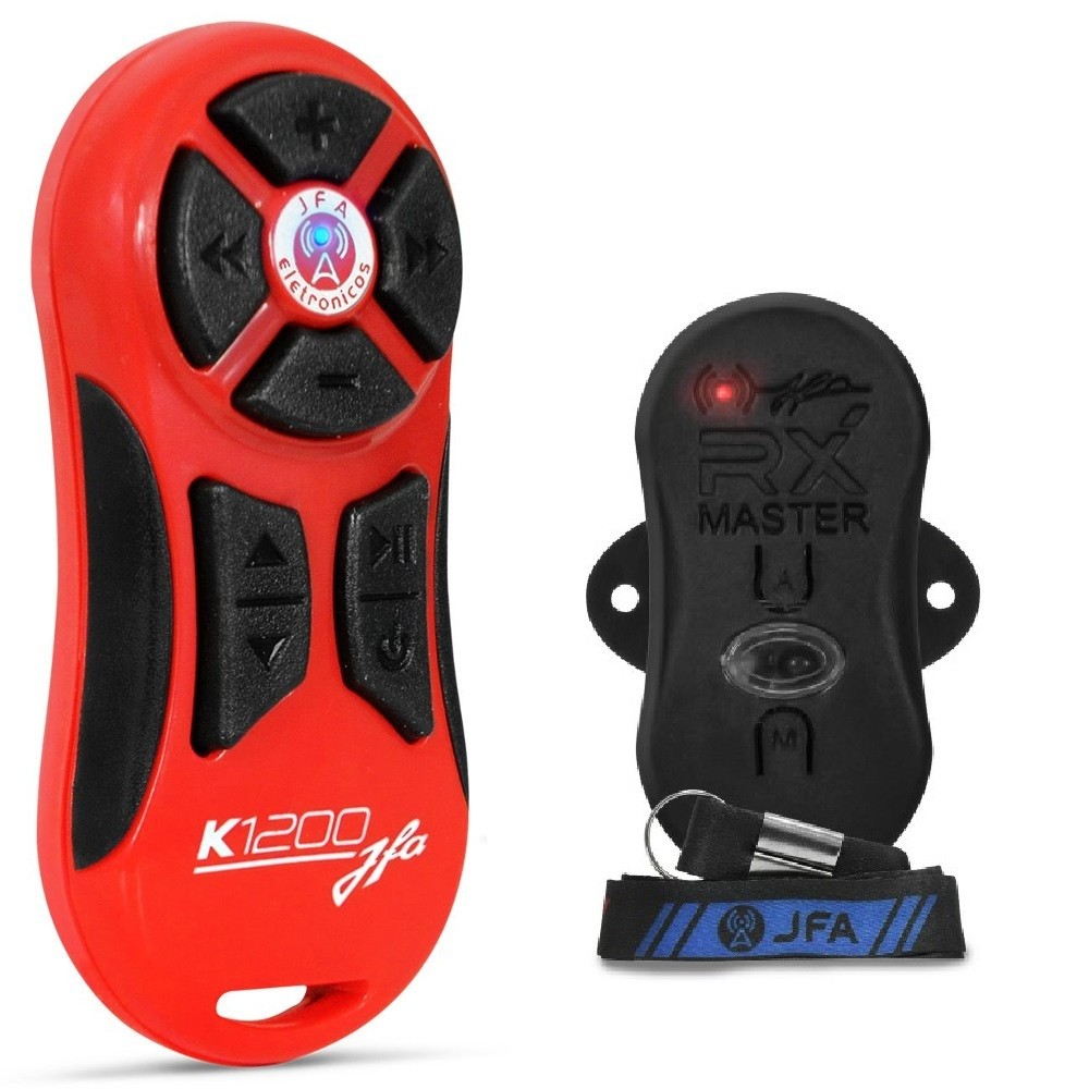 Controle Longa Distancia JFA K1200 Vermelho 1200 Metros
