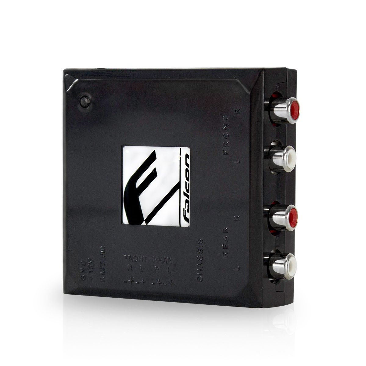 Conversor Adaptador de fio para Rca com Anti Ruido Falcon FCX 4 Entradas e 4 Saidas