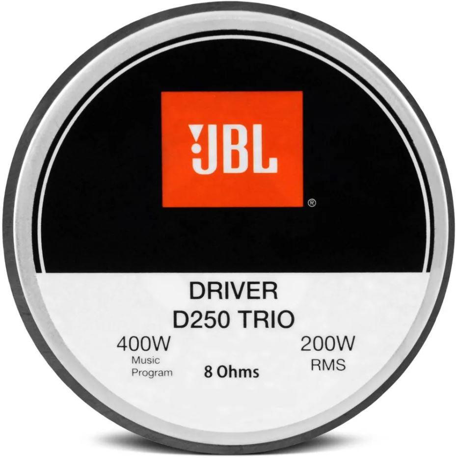 "Driver Fenólico JBL D250 Trio 200W Rms 8 Ohms 1"""