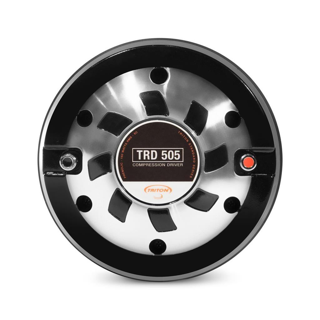 """Driver Fenólico Triton TRD 505 Trio 320W Pmpo 160W Rms 8 Ohms 2"""""""